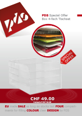 6.2 - PDS Special Offer Box 4-fach Tischset
