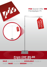 6.3 - PDS Special Offer Plakatgalgen F4
