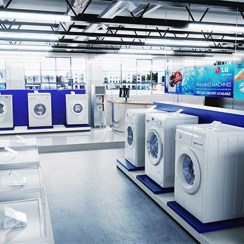 Verkaufsförderung und Ausstattung für den Elektrofachhandel