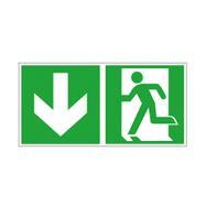 Fluchtweg- und Rettungsschilder