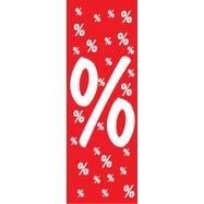 """Deckenhänger """"Prozentzeichen"""", aus Papier"""