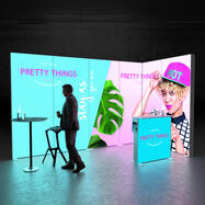 """Pixlip GO  LED Messestand  """"Stand ES4020"""""""