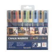 Kreidemarker Set Earth colors