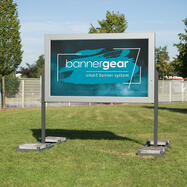 "bannergear® Stand ""Mobil LED"", 2-seitig"