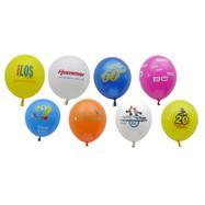 Luftballons in bunten Farben, auf Wunsch mit Druck