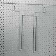 Prospekthalter Lochwand 4 mm