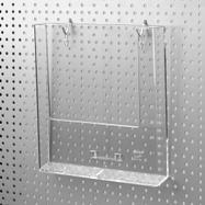 Lochplattenhaken für Prospektfächer