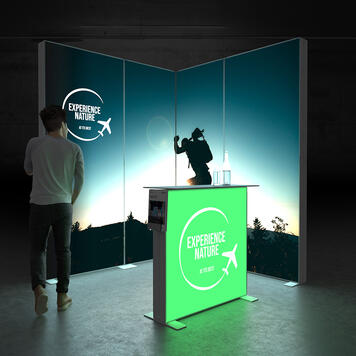 """Pixlip GO  LED Messestand  """"Stand ES2020"""""""
