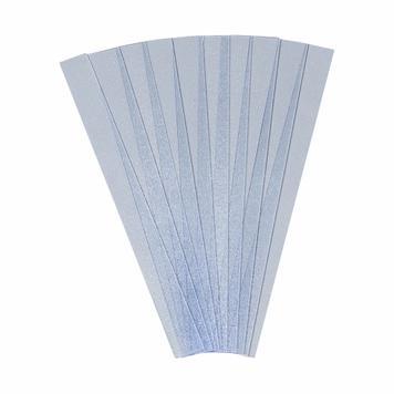 """Ricambio foglio di protezione per targhetta porta """"Silver"""""""