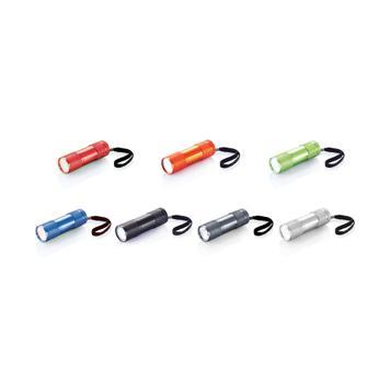 Quattro Aluminiumtaschenlampe mit Trageband