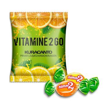 Nimm2 Duopack im Werbetütchen