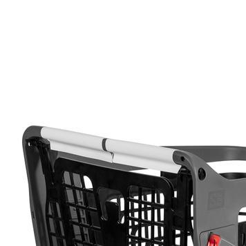 Selbstklebendes Abdeckpapier für Einkaufswagen und -körbe