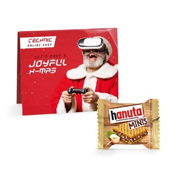 Hanuta Mini mit Werbekarte