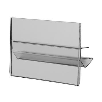 Preisschildhalter für Regalböden 105 x 74 mm