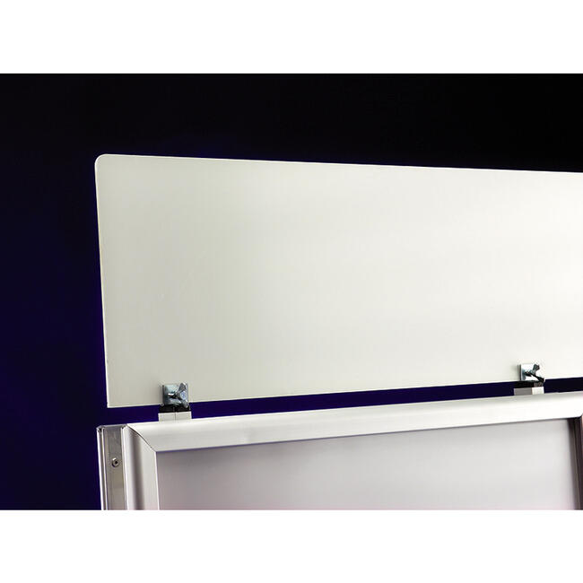 """Topschild für Kundenstopper der Serie WindSign """"Economy II"""""""