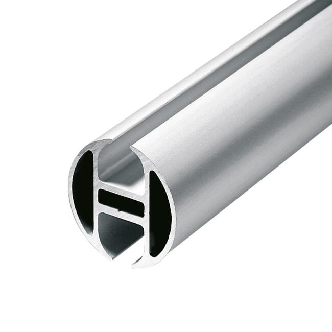 "Aluminium-Kederschiene rund ""Rail"""