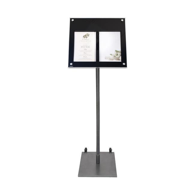 """Ständer für LED Infodisplay """"Menü"""""""