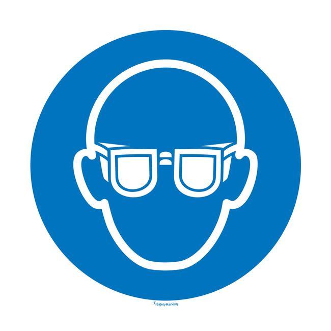 Augenschutz benutzen