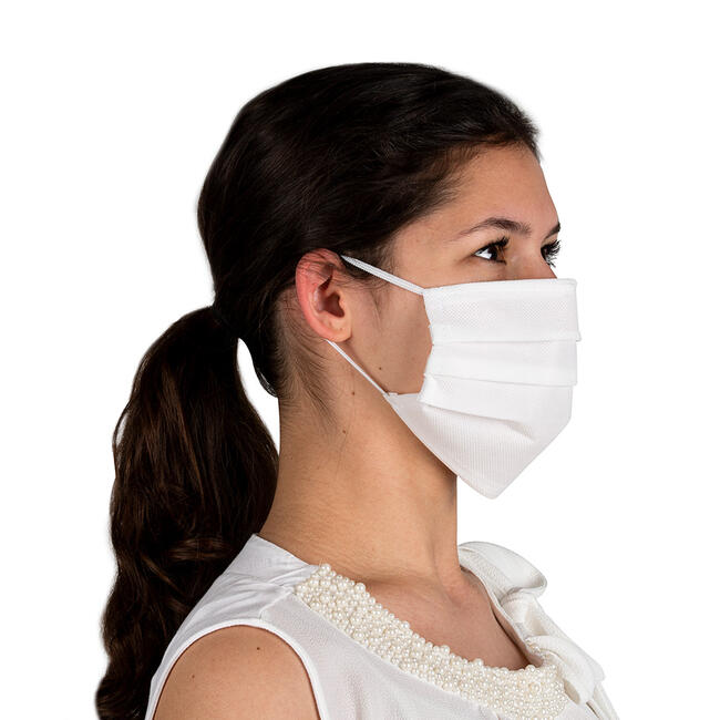 Gesichtsmaske 100% Vliesstoff, 2-lagig