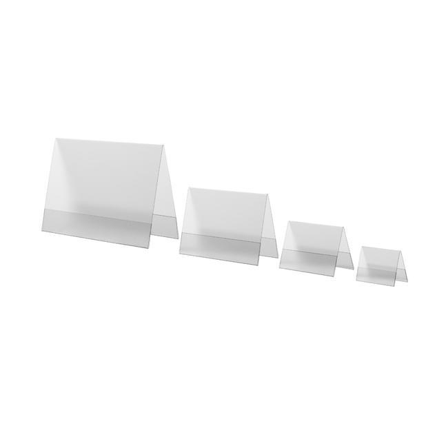 Hart-PVC-Dachständer in DIN-Formaten