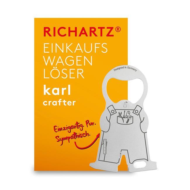 """Einkaufswagenlöser """"Karl Heim-und Handwerker"""""""
