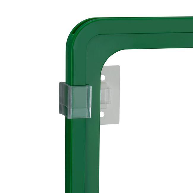 Clip di fissaggio a parete con 2 fori