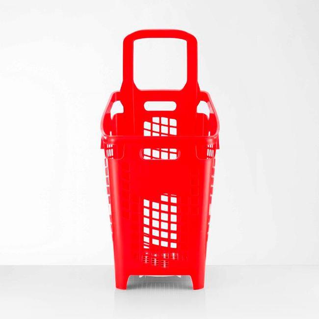 Einkaufskorb 65 Liter, zum Ziehen