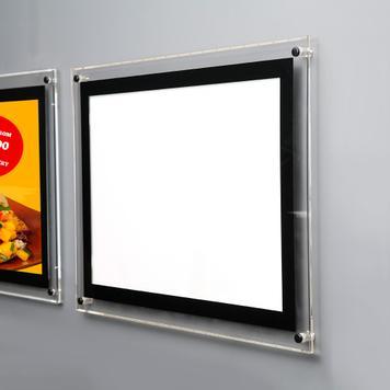 Cadre acrylique LED