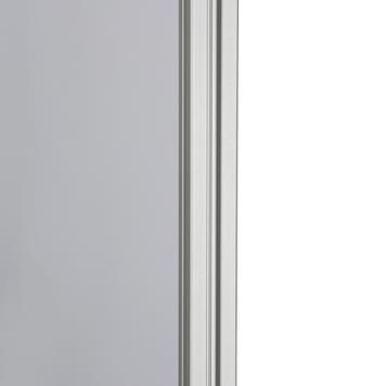 """Informationstafel """"Quattro"""", Plattenaufsteller mit Stahlfußplatten"""