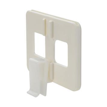 Halterung für stehende Glasplatten