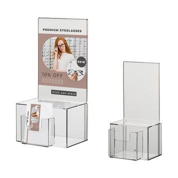 Losbox mit Plakateinschub DIN A4 – A5