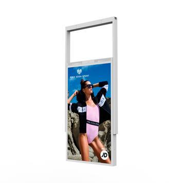 """Schaufenster-Bildschirm FLASH.movie """"Double High Brightness"""""""